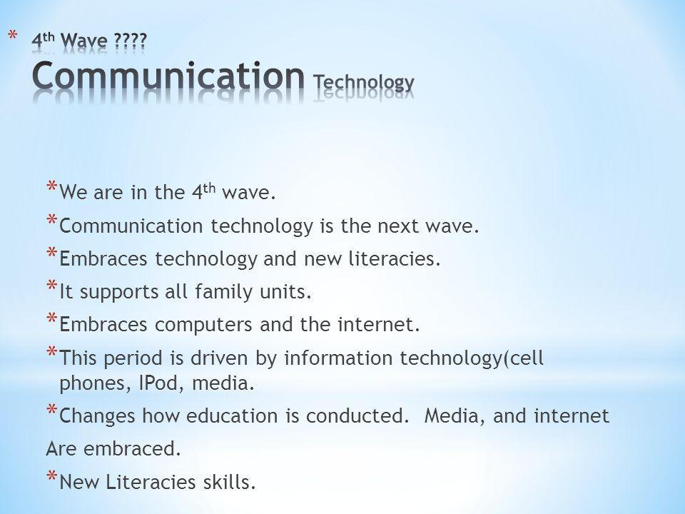 4th Wave Communication Technology