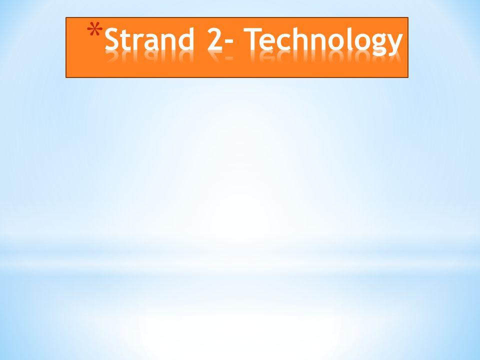 Strand 2- Technology
