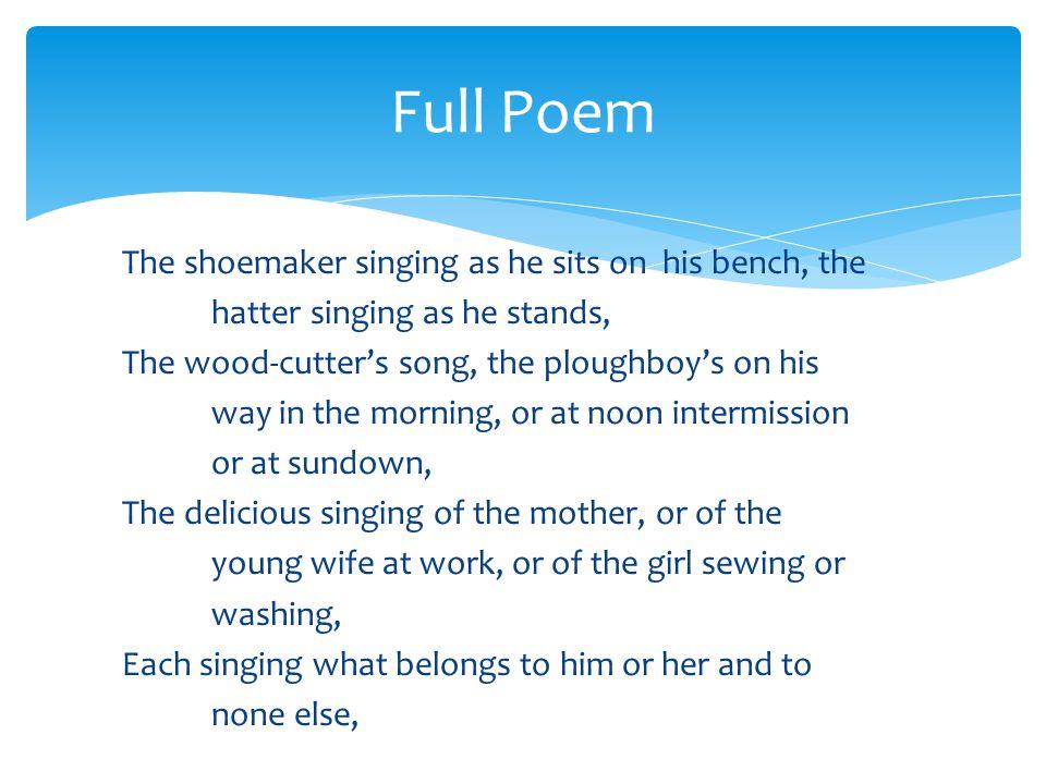 Full Poem