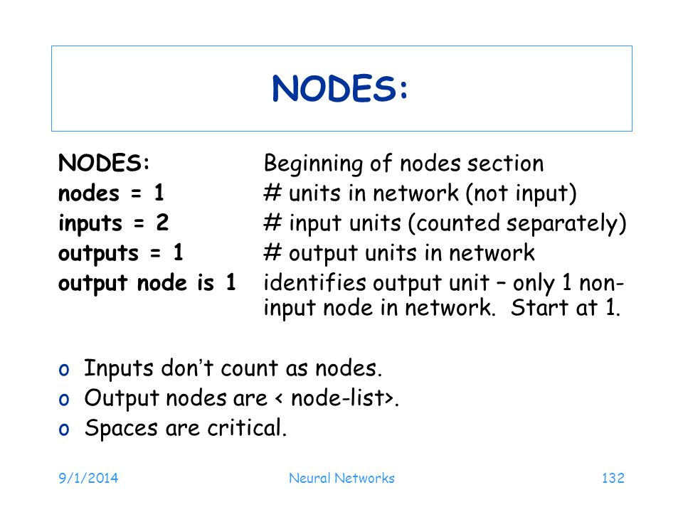 NODES: NODES: Beginning of nodes section