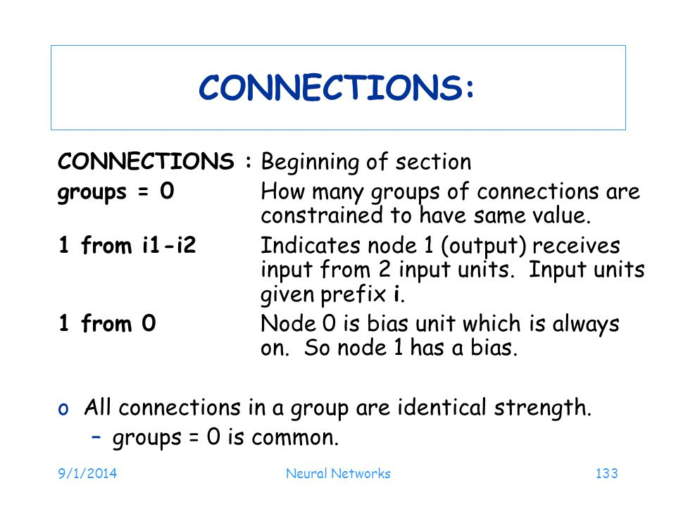 CONNECTIONS: CONNECTIONS : Beginning of section