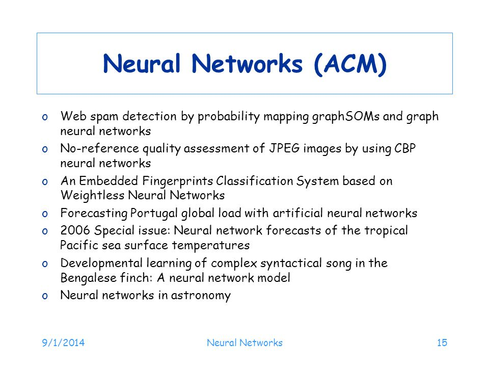 Neural Networks (ACM) Web spam detection by probability mapping graphSOMs and graph neural networks.