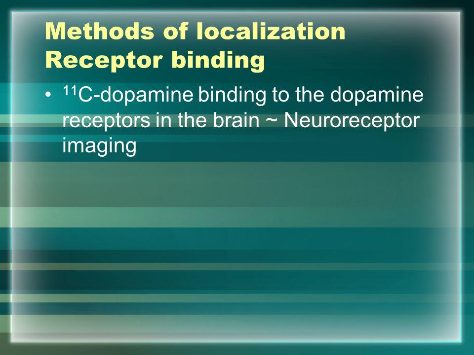 Methods of localization Receptor binding