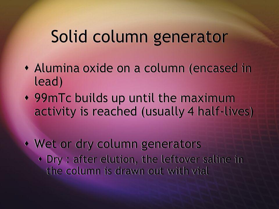 Solid column generator