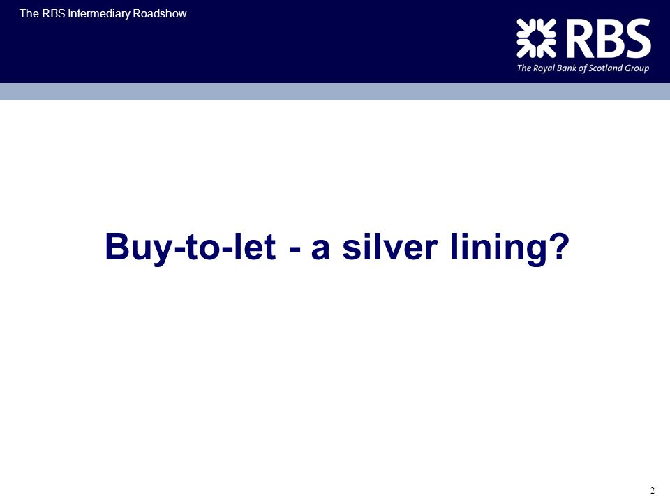 Buy-to-let - a silver lining