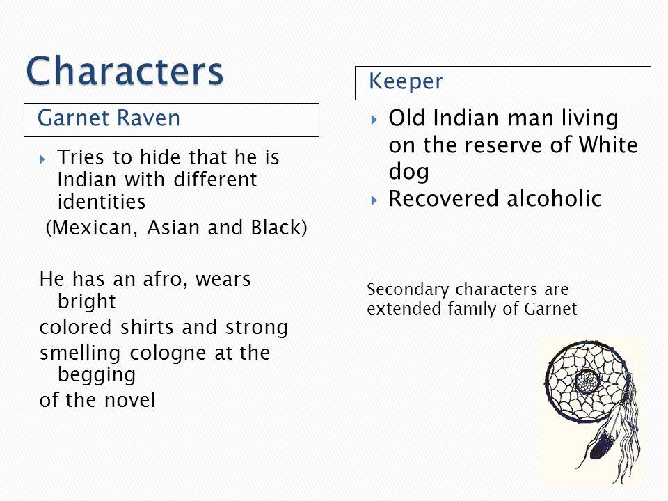 Characters Keeper Garnet Raven