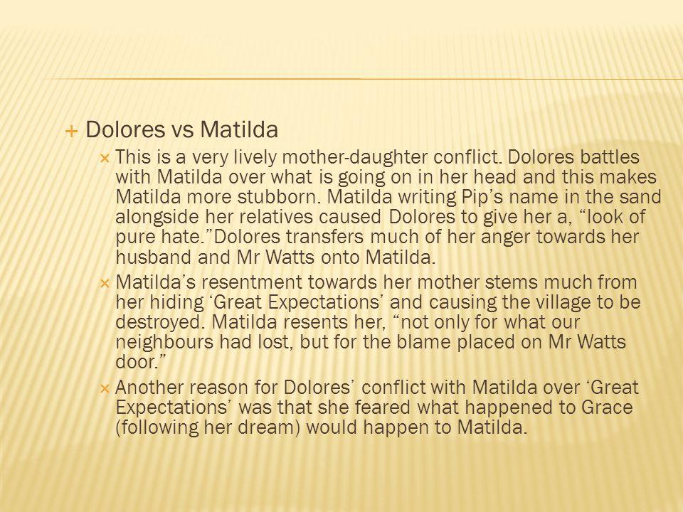 Dolores vs Matilda