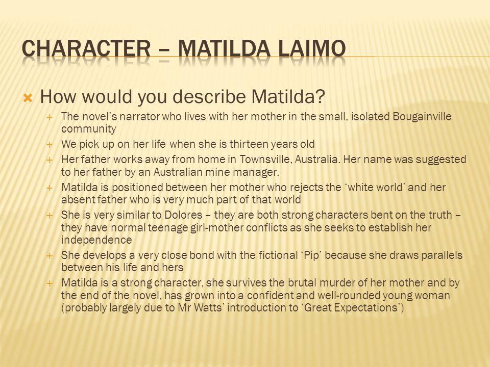 Character – Matilda Laimo