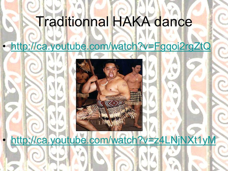 Traditionnal HAKA dance