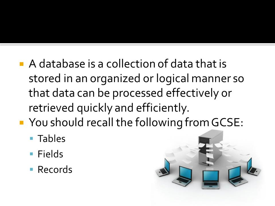 You should recall the following from GCSE: