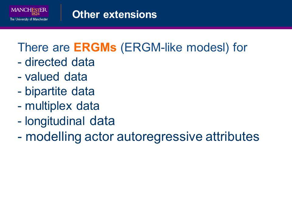 modelling actor autoregressive attributes