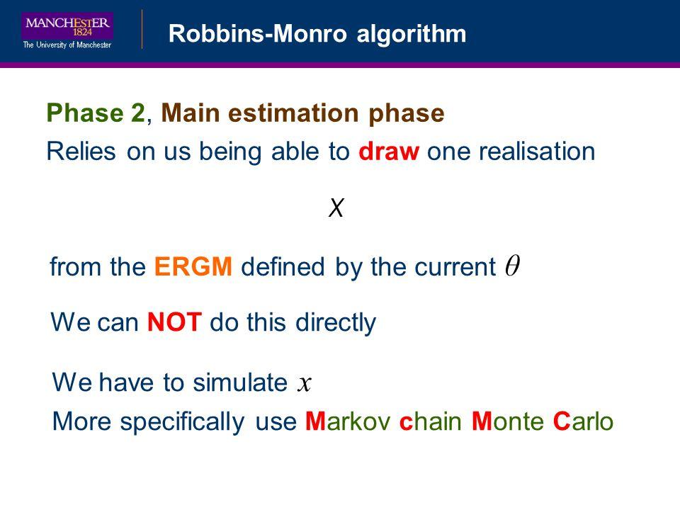 Phase 2, Main estimation phase