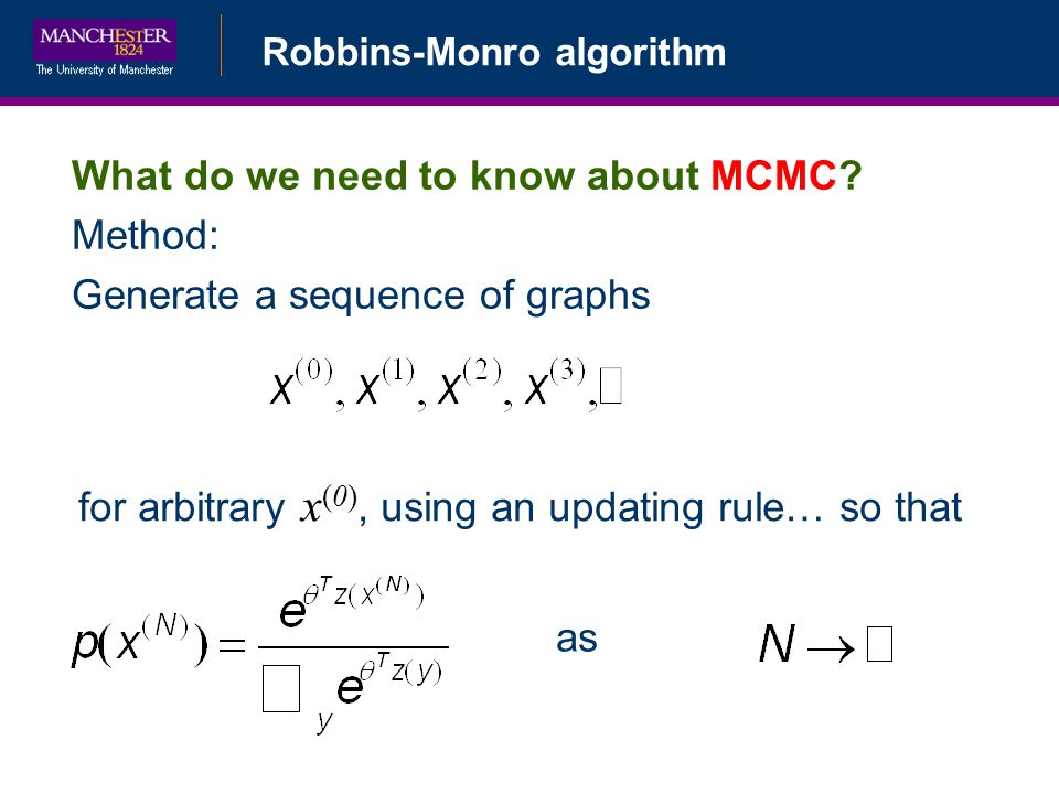 What do we need to know about MCMC Method: