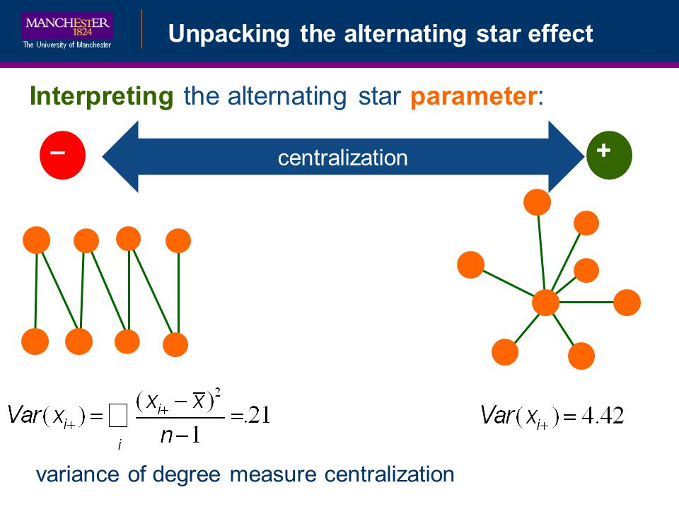 Interpreting the alternating star parameter: