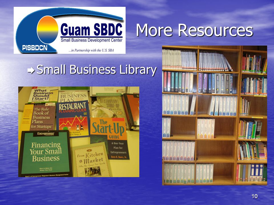 More Resources Small Business Library