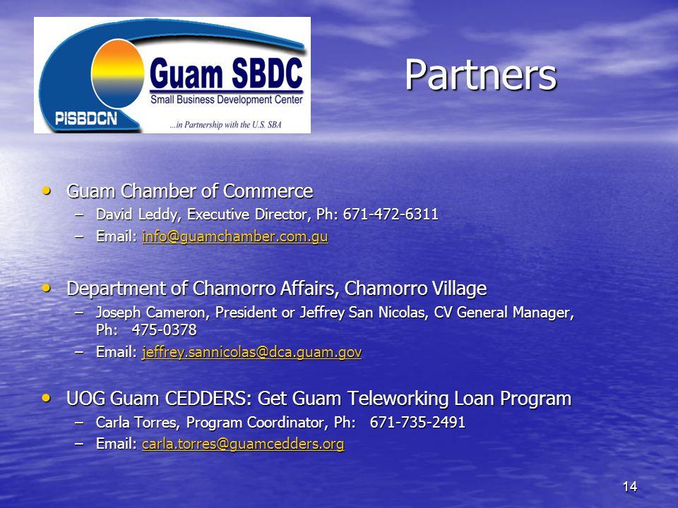 Partners Guam Chamber of Commerce