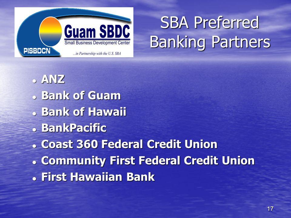 SBA Preferred Banking Partners