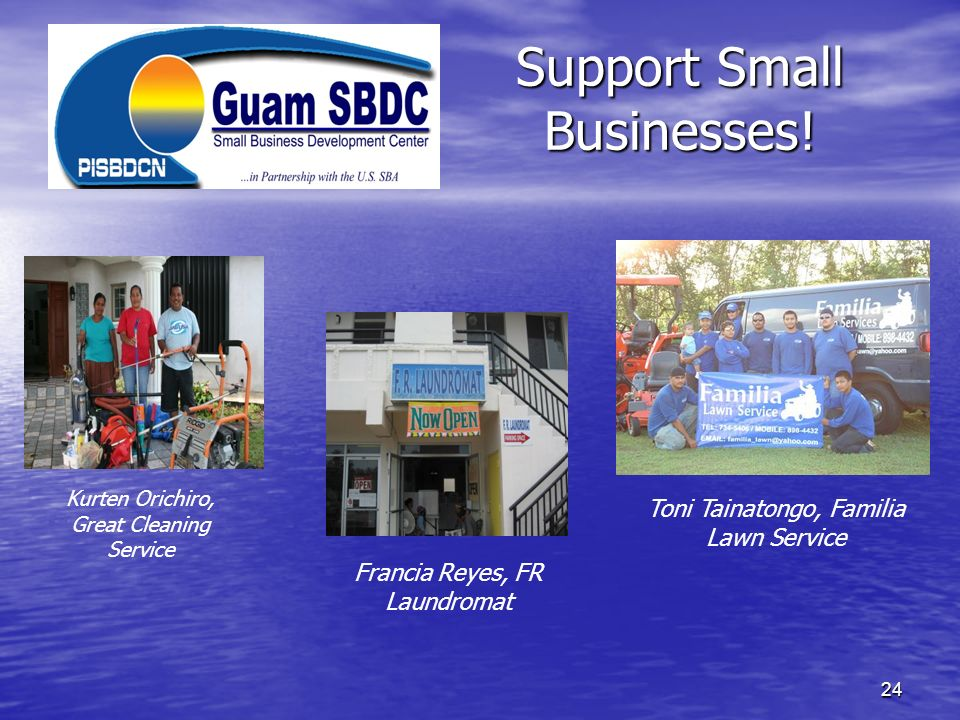 Support Small Businesses!