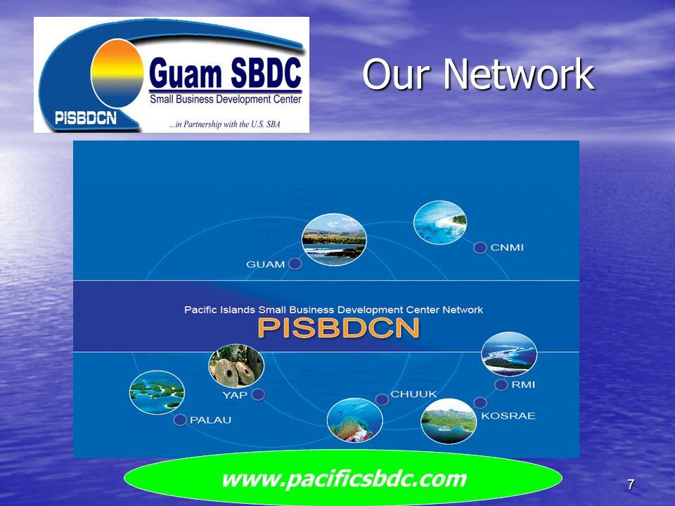 Our Network www.pacificsbdc.com Guam SBDC