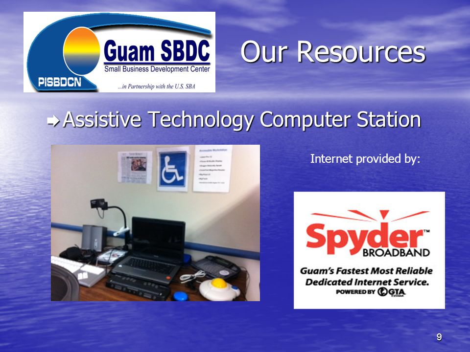 Our Resources Assistive Technology Computer Station
