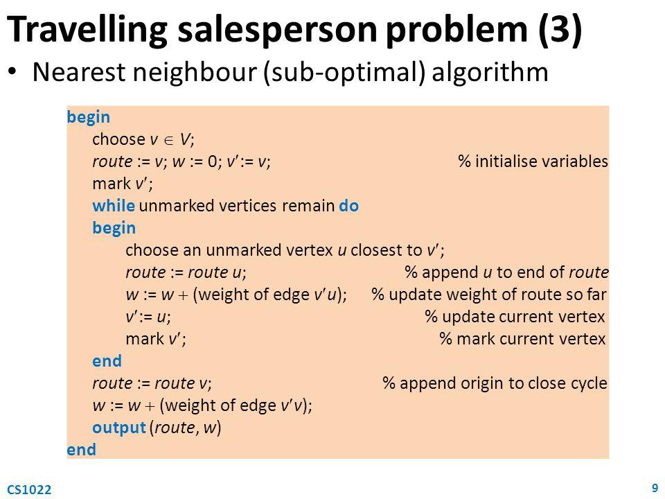 Travelling salesperson problem (3)