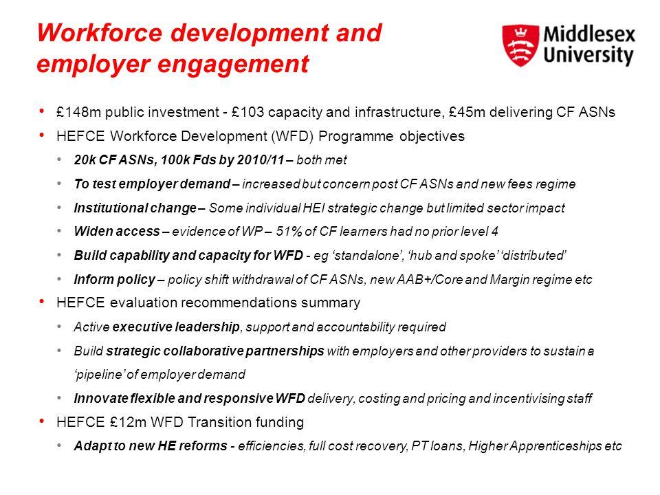 Workforce development and employer engagement