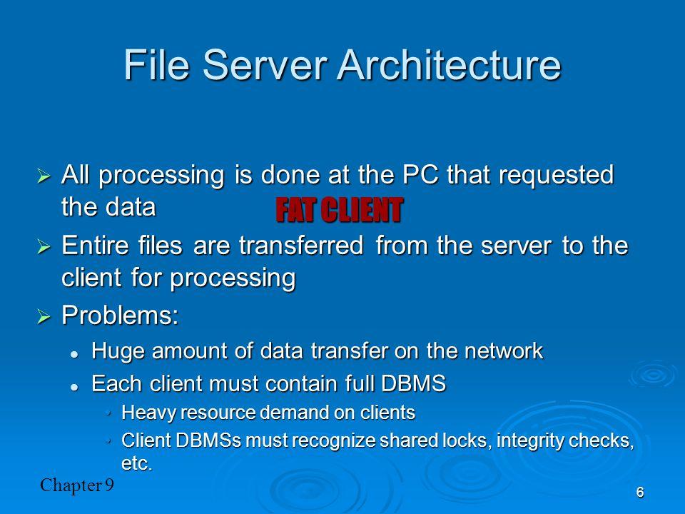 File Server Architecture