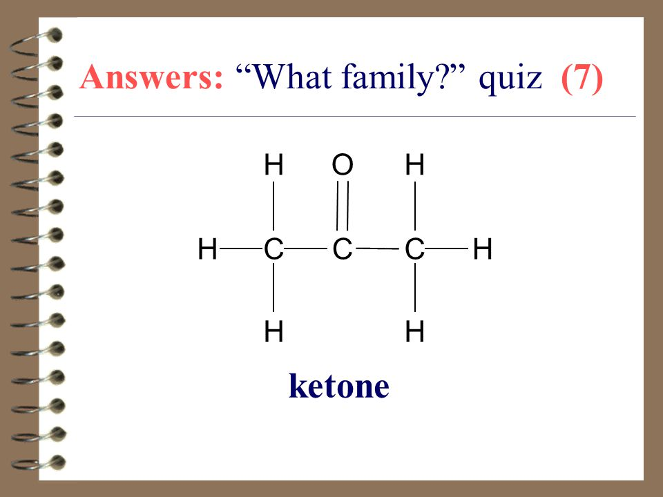 Answers: What family quiz (7)