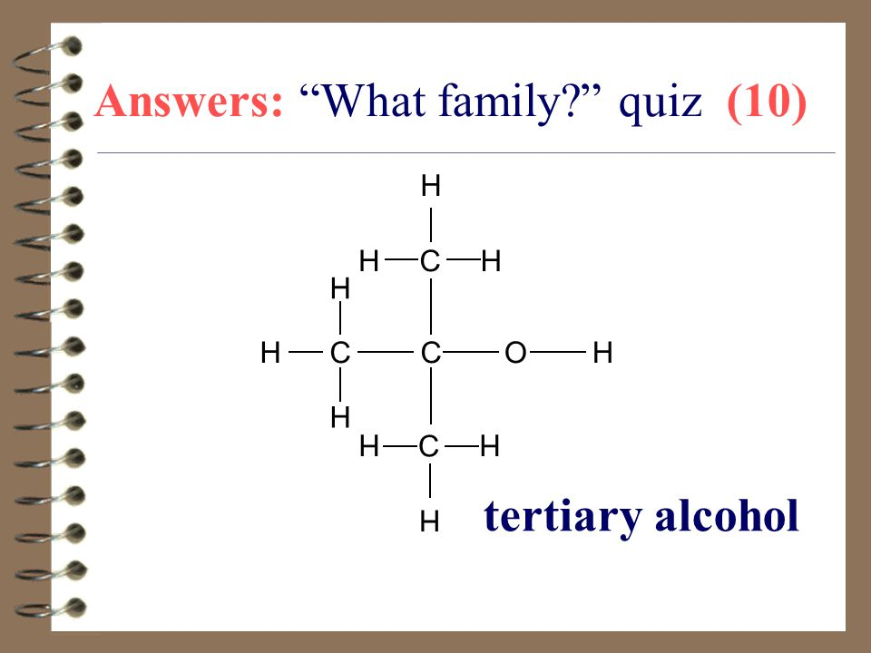 Answers: What family quiz (10)