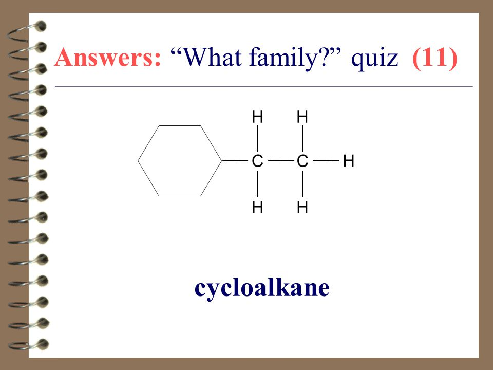 Answers: What family quiz (11)