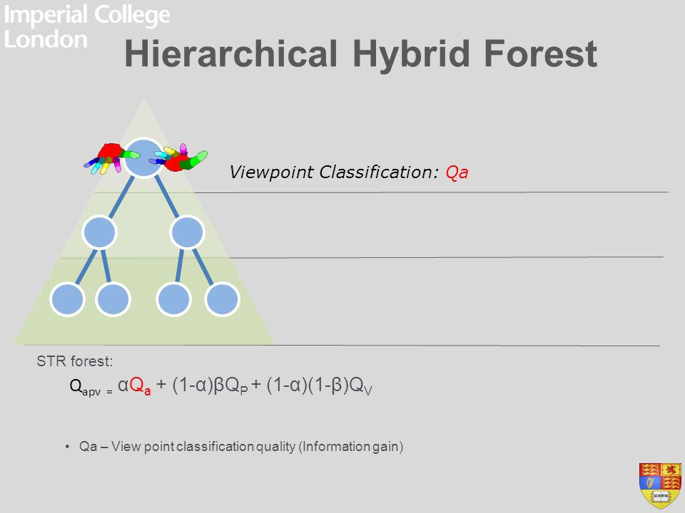 Hierarchical Hybrid Forest