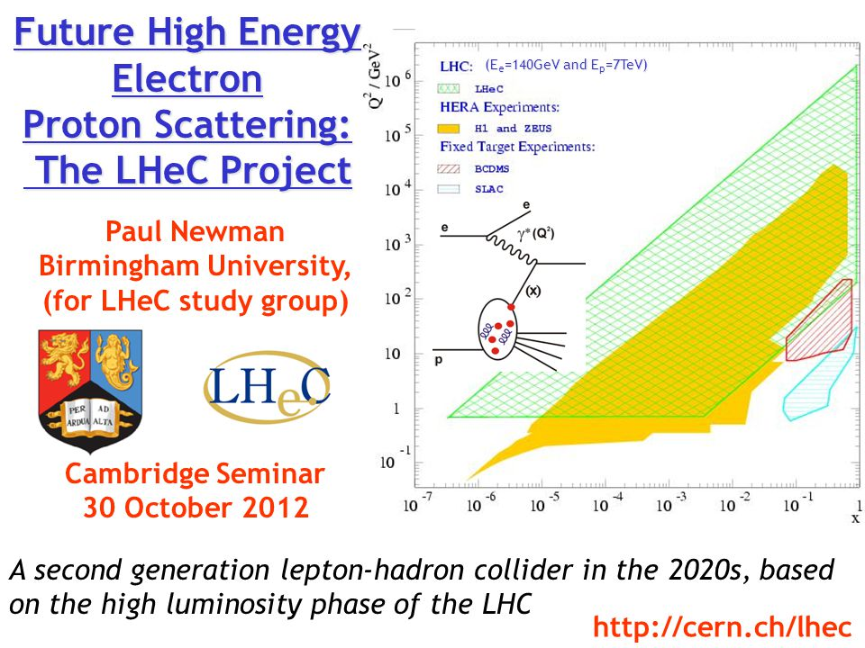 Future High Energy Electron Proton Scattering: The LHeC Project