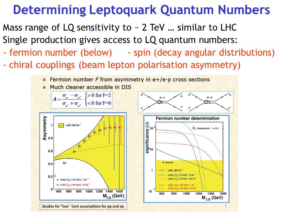 Determining Leptoquark Quantum Numbers