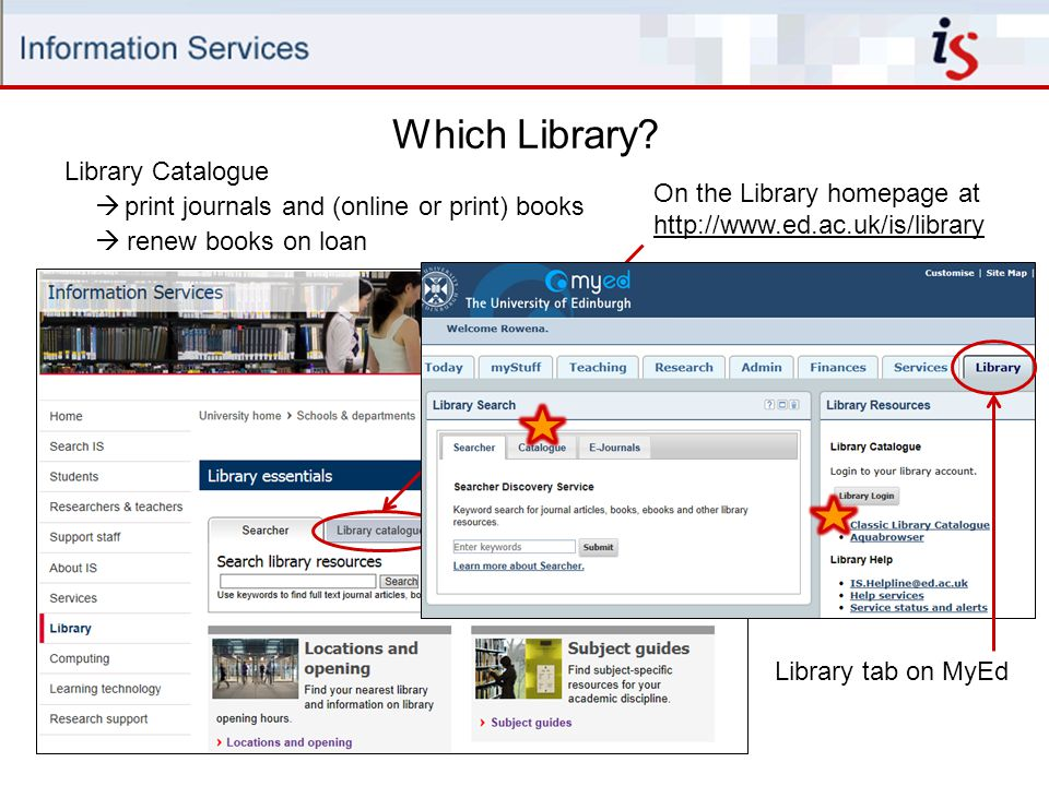 Which Library Library Catalogue