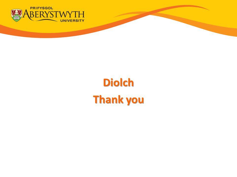 Diolch Thank you Thank You Thank You