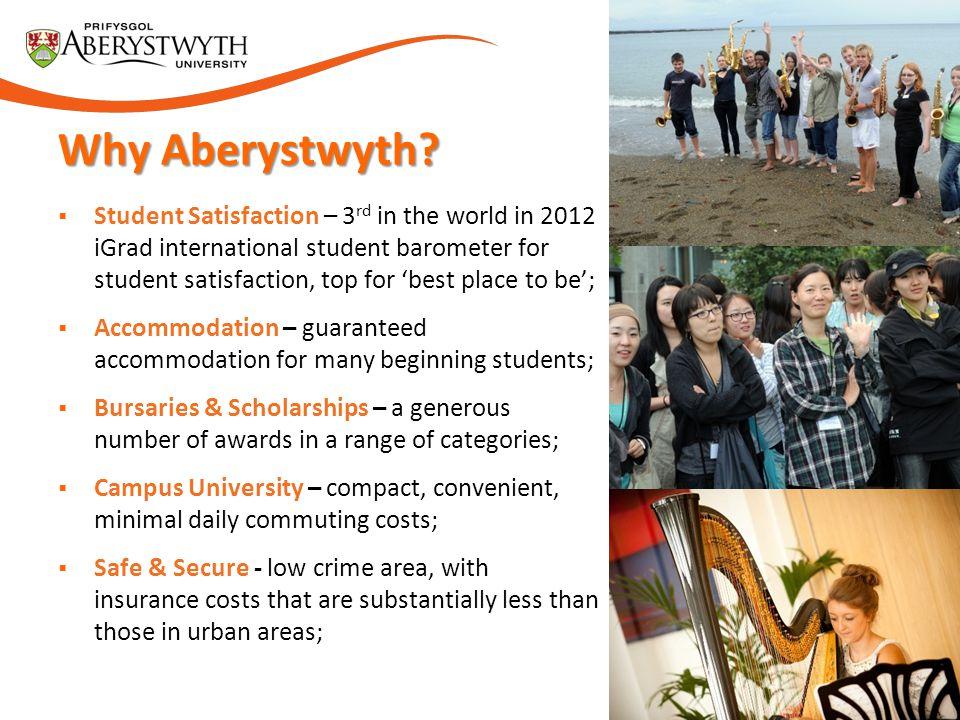 Why Aberystwyth