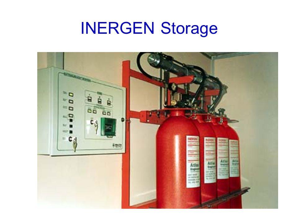 INERGEN Storage