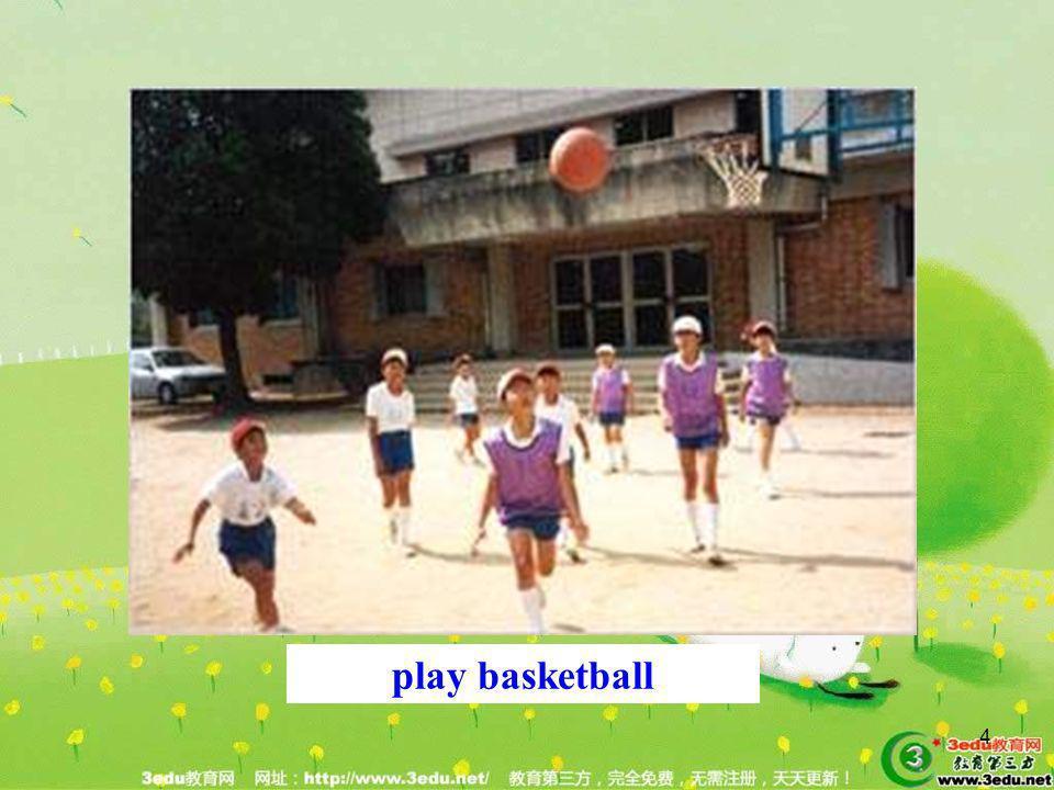 Learn play basketball