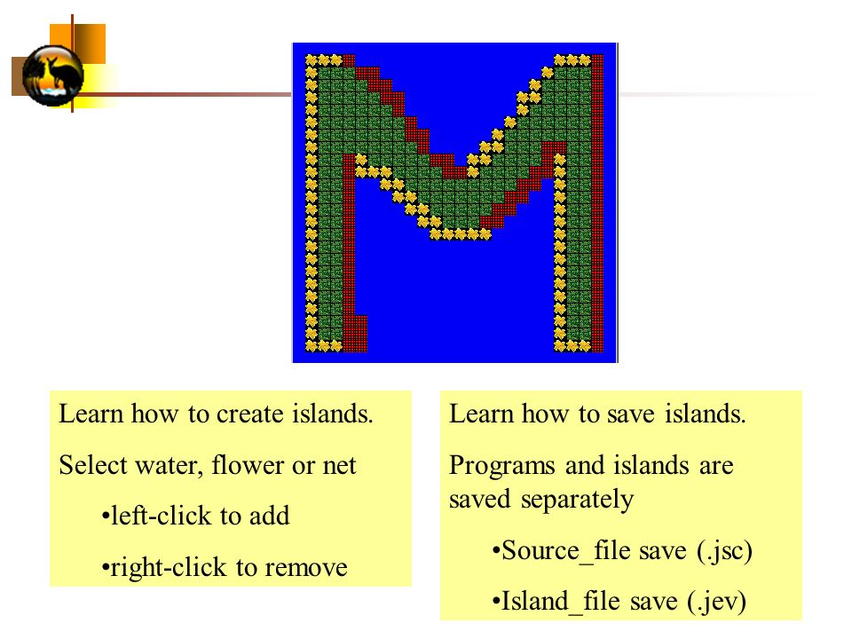 Learn how to create islands.