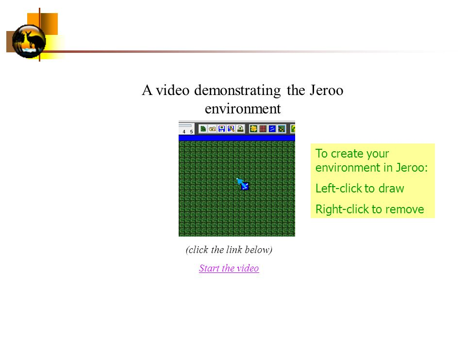 A video demonstrating the Jeroo environment