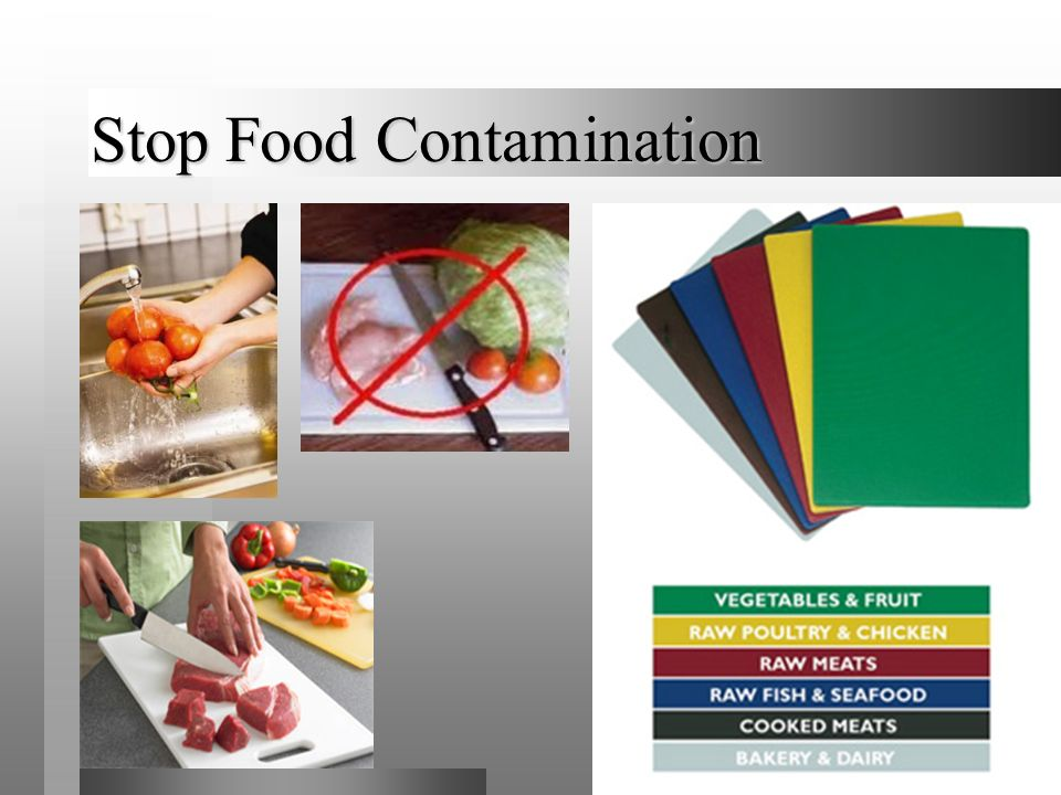 Stop Food Contamination