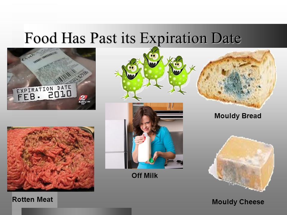 Food Has Past its Expiration Date