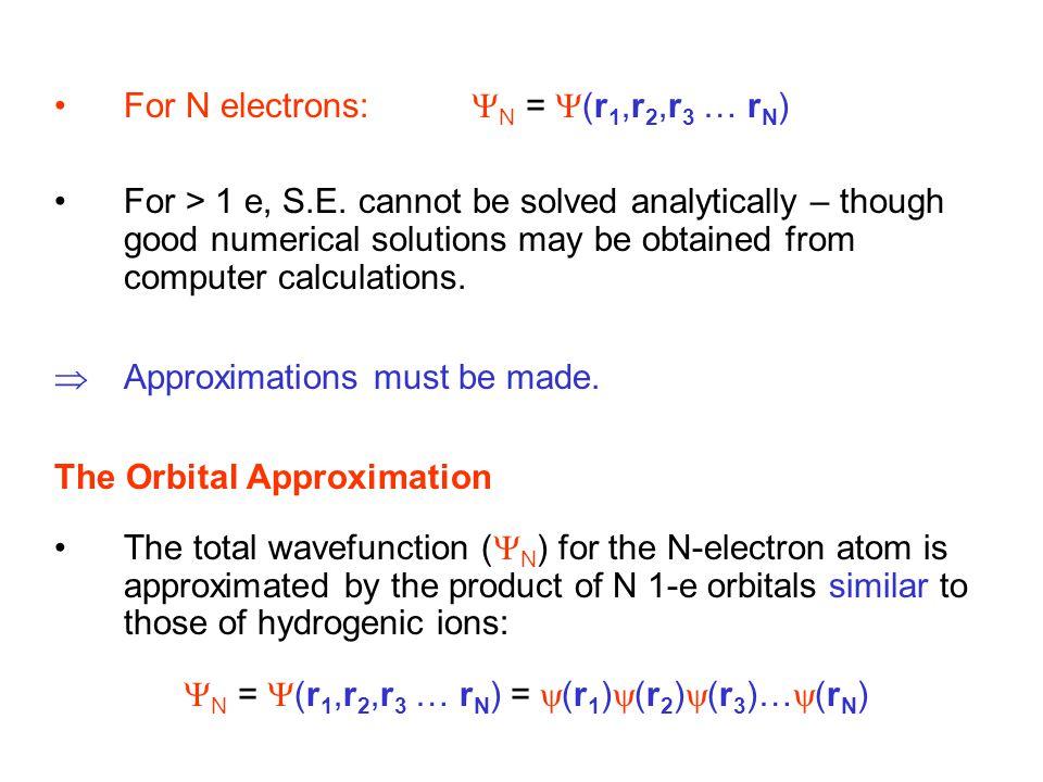 N = (r1,r2,r3 … rN) = (r1)(r2)(r3)…(rN)