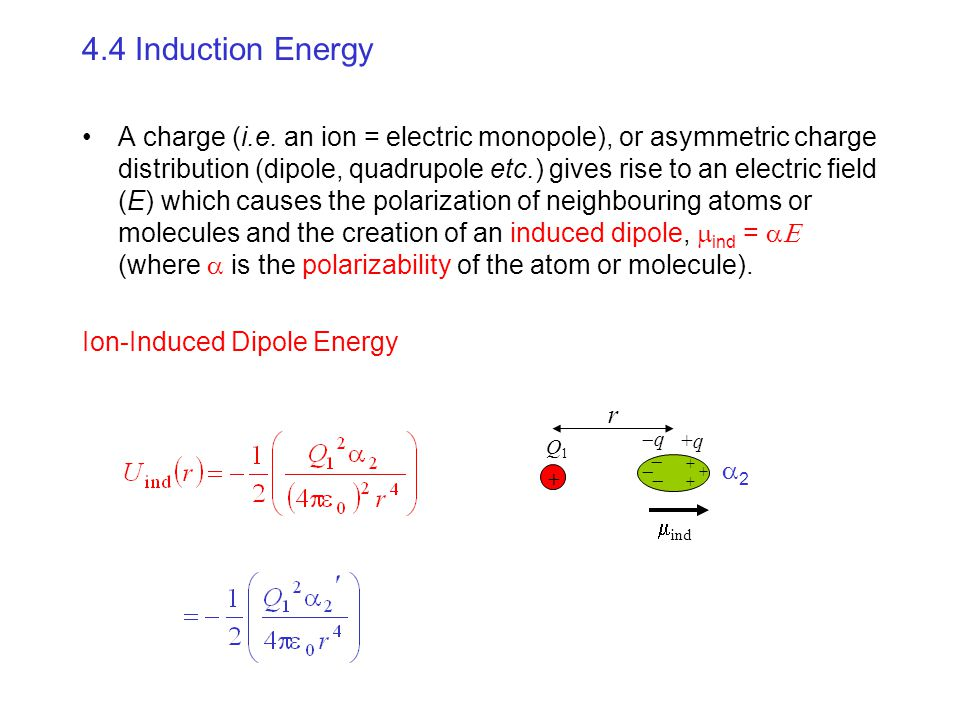 4.4 Induction Energy
