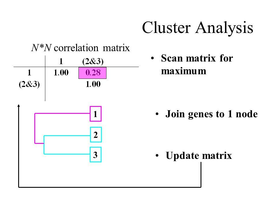 N*N correlation matrix