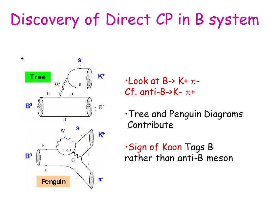 Discovery of Direct CP in B system