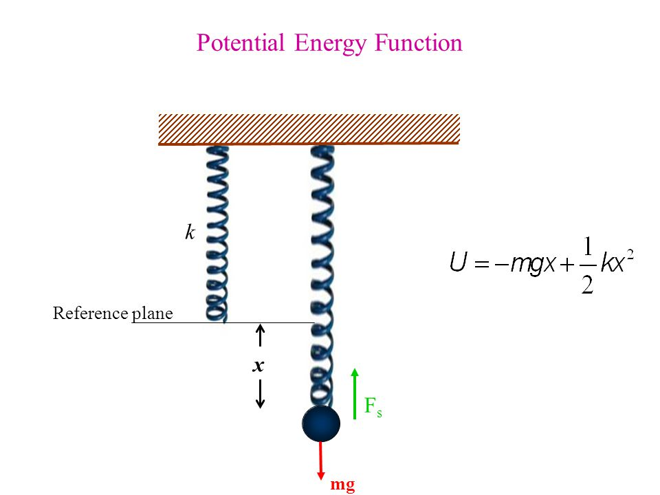 Potential Energy Function
