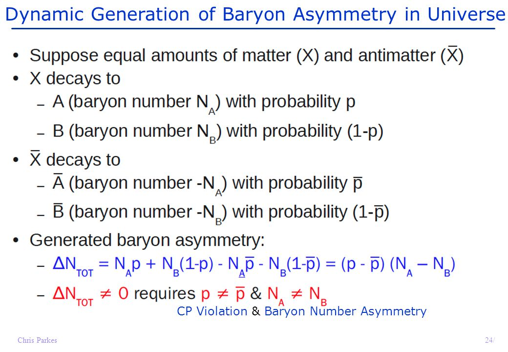 Dynamic Generation of Baryon Asymmetry in Universe