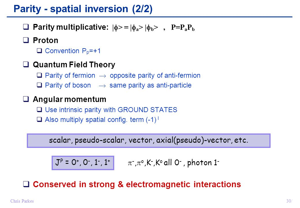 scalar, pseudo-scalar, vector, axial(pseudo)-vector, etc.