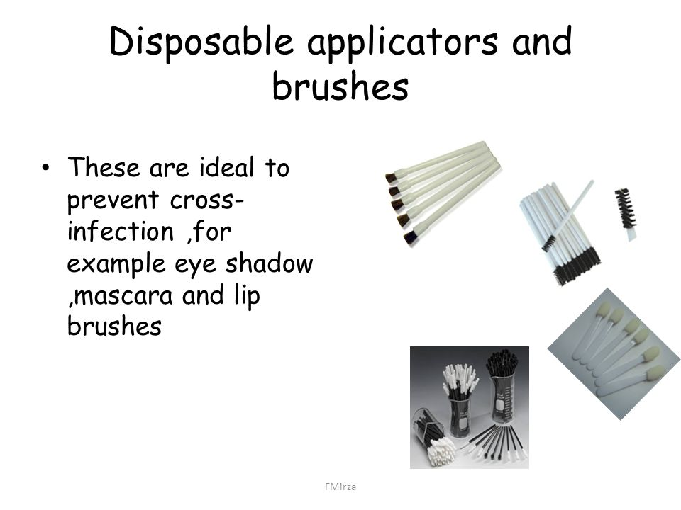 Disposable applicators and brushes